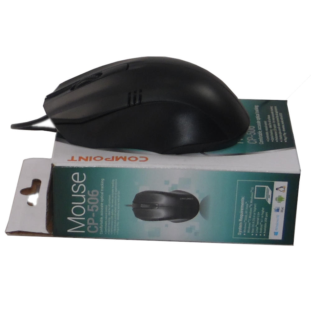 Compoint CP-506 USB Mouse | New In Box